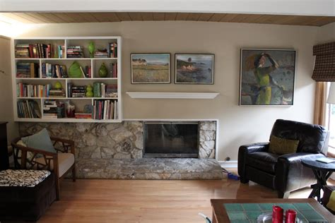 should a mid century modern fireplace a mantle mid