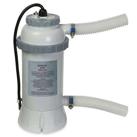 electric pool heater intex 2kw heater for above ground pools