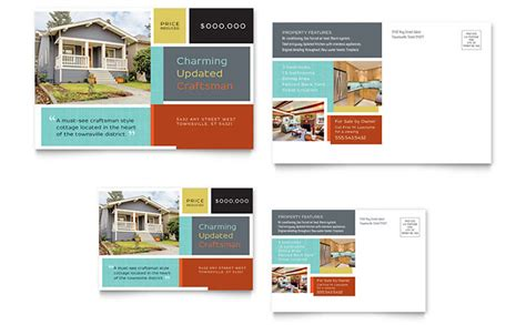 marketing postcard templates real estate marketing postcards easy templates
