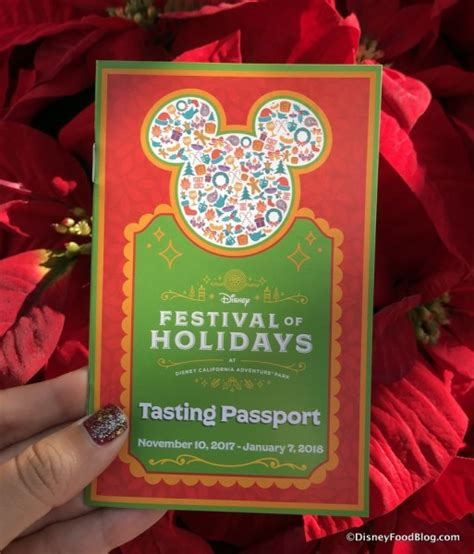 look and review festival of holidays at disney california adventure soft opening the