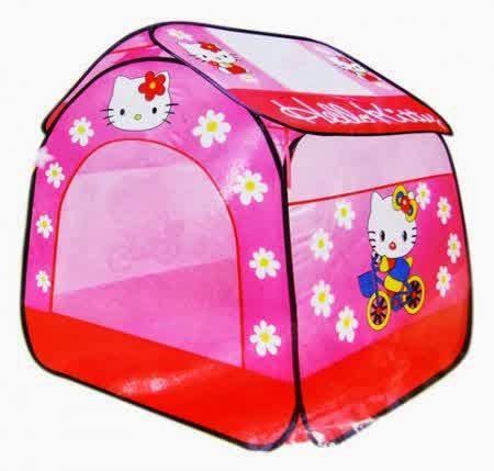 Mainan Anak Tenda Hellokitty toko mainan edukatif tenda hello