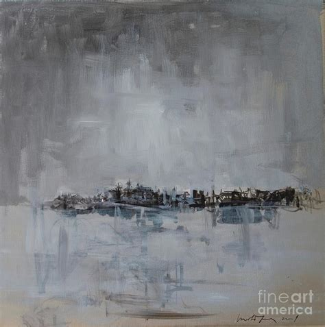 painting greys belgrade silver or grey painting by ignjatovic