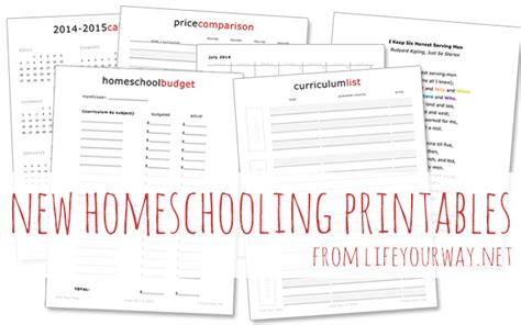 best printable homeschool planner 7 best images of free printable homeschool planner 2014