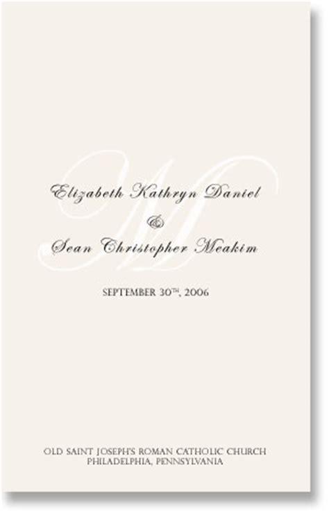 images sle wedding programs invitations ideas