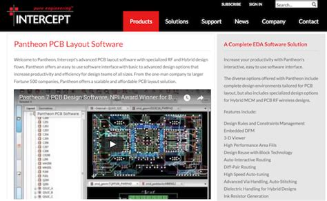 pcb layout software list 46 top pcb design software tools for electronics engineers