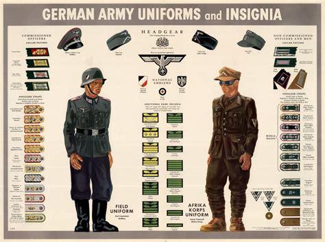wwii german army insignia uniforms german uniforms