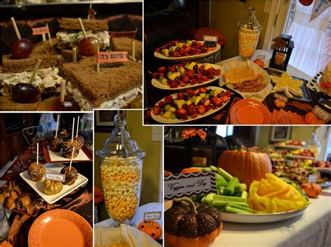 Common Baby Shower Foods by Baby Shower Food Ideas Baby Shower Food Ideas For Fall