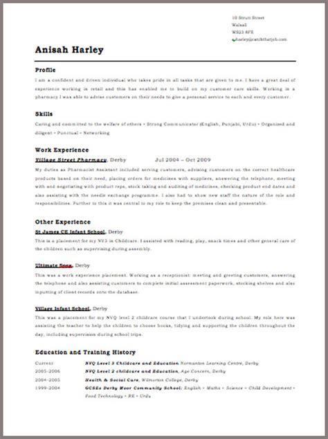 8 curriculum vitae template uk odr2017
