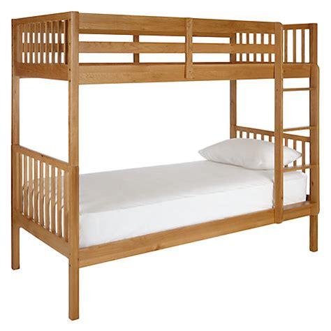 Buy John Lewis Morgan Story Time Bunk Bed Oak John Lewis Bunk Beds Lewis