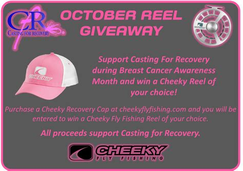 Fly Fishing Giveaway - tight lined tales of a fly fisherman cheeky fly fishing s october reel giveaway