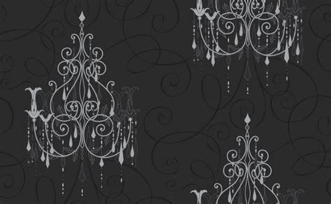 Black And White Chandelier Wallpaper Black And White Chandelier Wallpaper