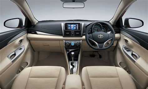 Dashboard Toyota Vios New toyota vios india launch price review engine mileage