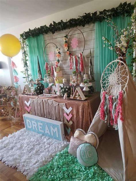 dream catcher birthday party ideas photo    wild