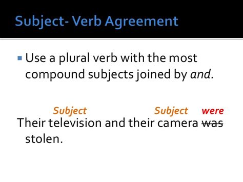 couch verb subject verb agreement