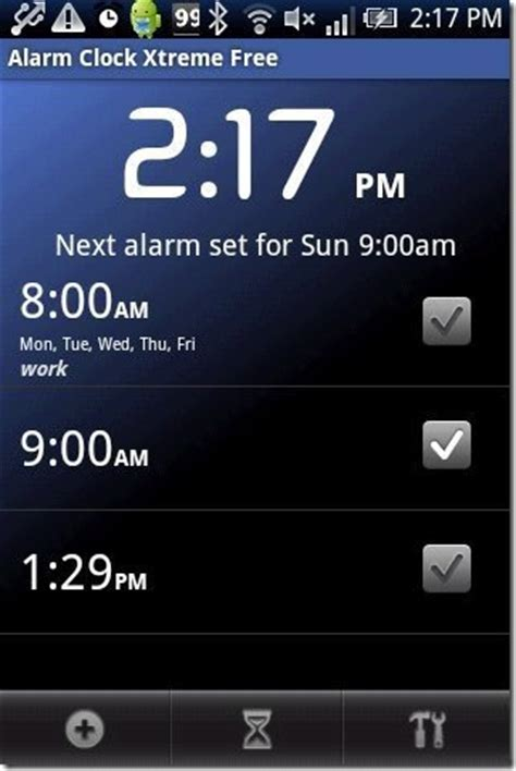 android alarm clock app android alarm clock app xtreme
