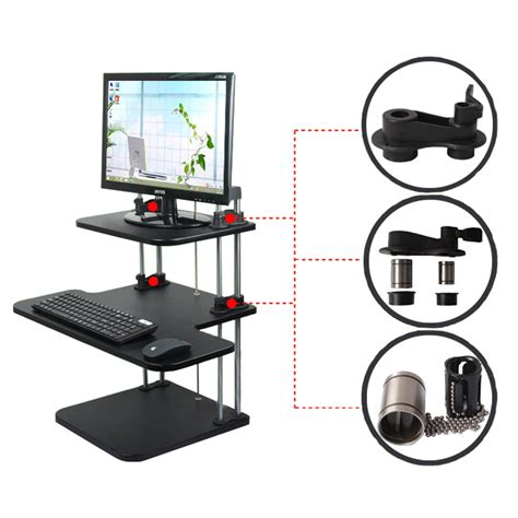 height of stand up desk ergonomic height adjustable standing desk computer sit
