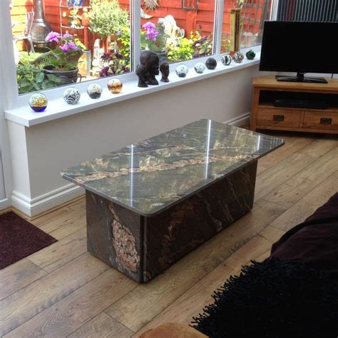 17 best ideas about granite coffee table on