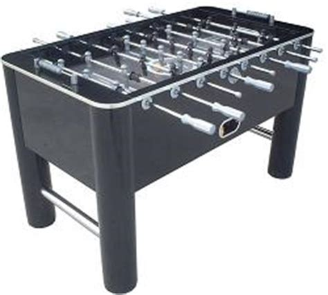 Classic Sports Foosball Table by So Classic Sport 788 Shiny Black Soccer Foosball Table