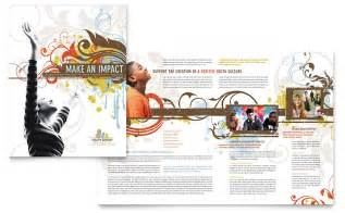 free church brochure templates for microsoft word church youth brochure template word publisher