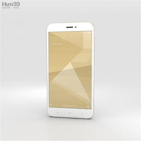 3d Xiaomi Redmi 4x xiaomi redmi 4x gold 3d model hum3d