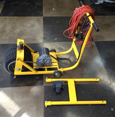 boat trailer electrical parts motorized trailer dolly electric trailer mover system