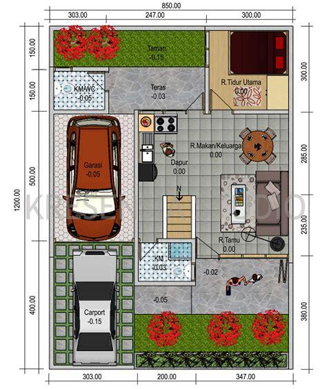contoh gambar desain rumah minimalis 1 lantai terbaru 2015 denah contoh rumah minimalis