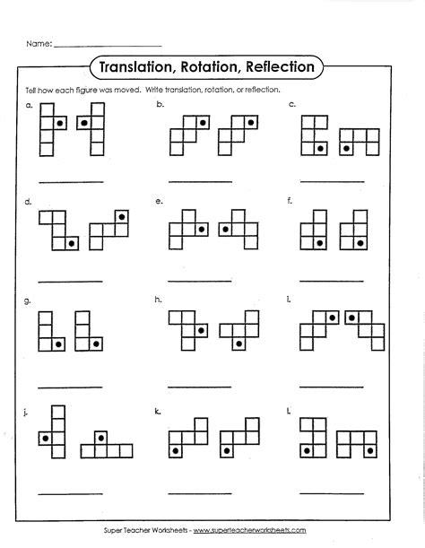8th Grade Math Worksheet by Math Dilation Worksheet 8th Grade Math Dilations