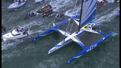 trimaran around the world bbc interview about fran 231 ois garbart s solo round the