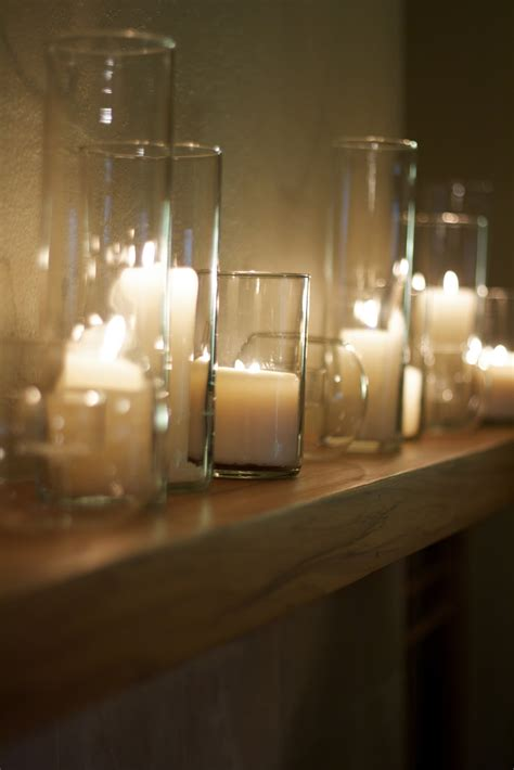 Candle In A Glass Vase by Non Floral Thanksgiving Table Decor Craft And Couture
