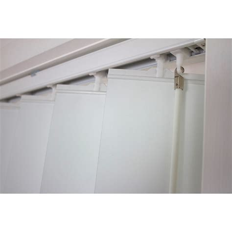 home products smart home products 180 x 210cm white poly vertical delta blind