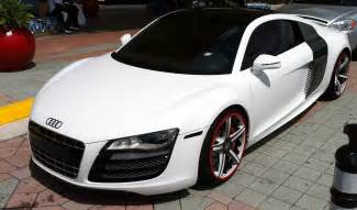 white 2012 audi r8 custom rims cars on the