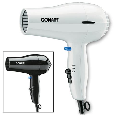 Hair Dryer With Cool hair dryers conair 1600 watt hair dryer w cool