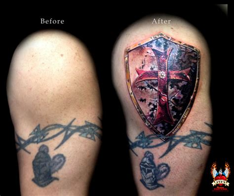 knights templar tattoo mom custom tattoo and design