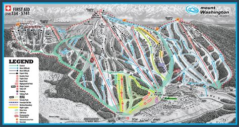 alpine mountain skimap org mount washington alpine resort skimap org