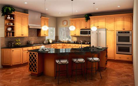 landmark kitchen cabinets in stock landmark natural birch cabinets beyond phoenix