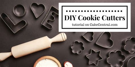 How To Make Your Own - how to make your own cookie cutters cakecentral