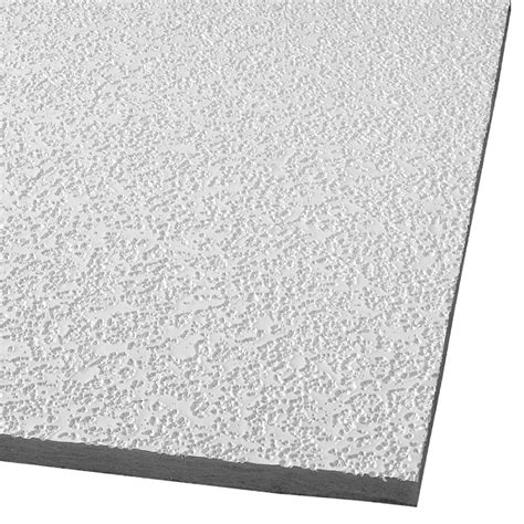 Drop Acoustic Panel Ceiling Tiles Shop Armstrong Random Fissured 32 Pack White Fissured 15
