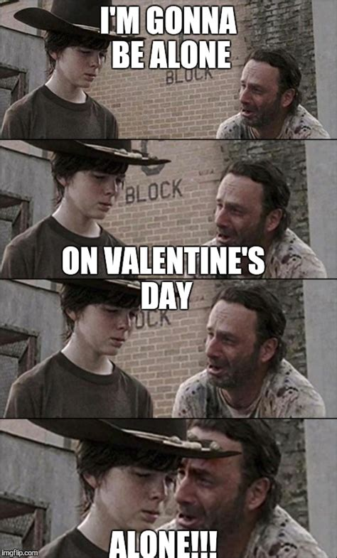 walking dead valentines day meme the walking dead coral imgflip
