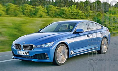 bmw  series gran coupe rendered auto bmw review