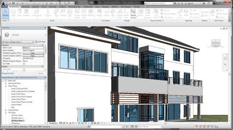 revit tutorial facade bim revit 3d tutorial for beginners 9of10 camera