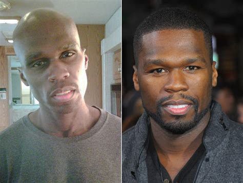 photo 50 cent before and after 60 pound weight loss
