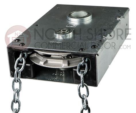 Overhead Door Chain Hoist Garage Door J R G Jackshaft Chain Hoist 1 1 4 Quot Shaft