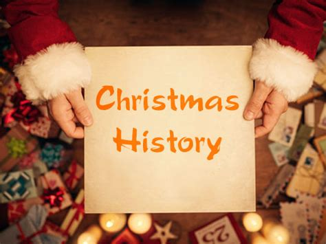 history and origin of christmas celebration
