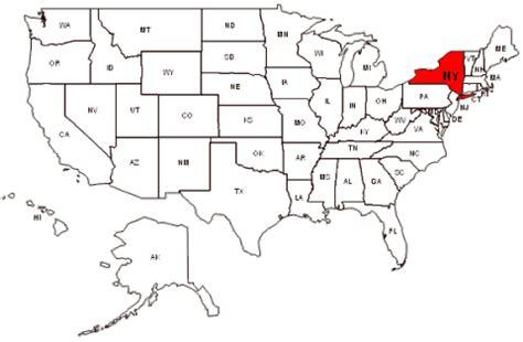usa new york map maps usa map new york