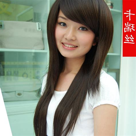 Hairstyles With Side by Asian Hairstyles With Side Bangs Hairstyle Ware