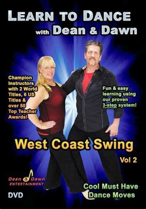 how to dance west coast swing rent dvd west coast swing vol 2 cool must have dance
