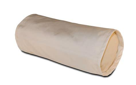 buckwheat pillow neck cylinder zipper pillow