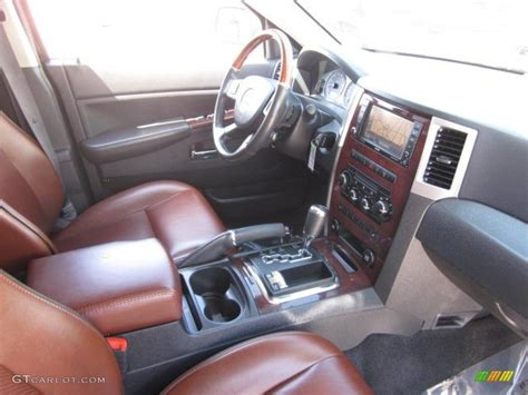 2008 Jeep Grand Interior by Saddle Brown Slate Gray Interior 2008 Jeep Grand