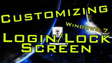 change windows  loginlock screen background youtube