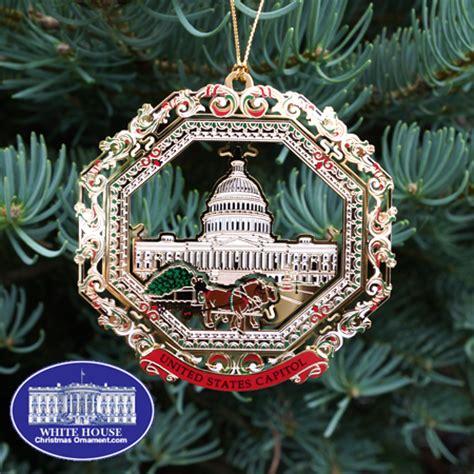 1980 white house christmas ornament 2013 u s capitol carriage ornament